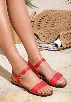 Czerwone Sandały Color Palette