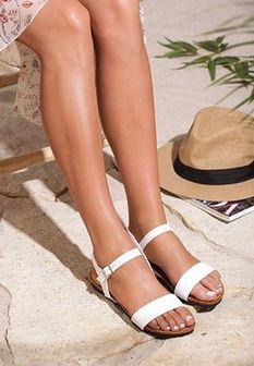 Białe Sandały Color Palette