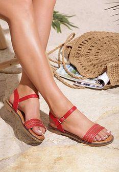 Czerwone Sandały Errand