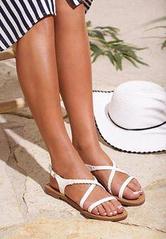 Białe Sandały Sprawl
