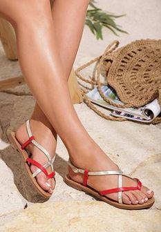 Czerwone Sandały Chinook