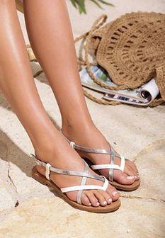 Białe Sandały Chinook