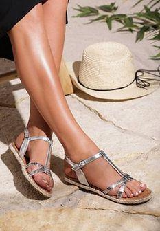 Srebrne Sandały Grama