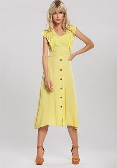 Żółta Sukienka Camellia