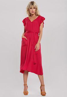 Czerwona Sukienka Mignonette