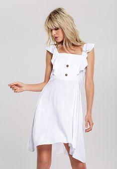 Biała Sukienka Incandessence