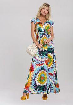 Niebieska Sukienka Hopper