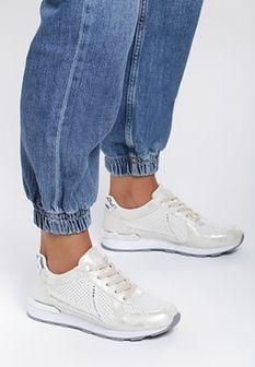 Białe Sneakersy Wake Up Call