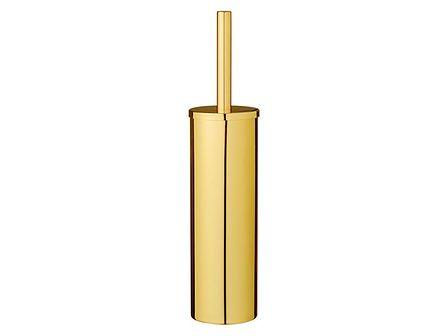 Szczotka toaletowa Gold złoty