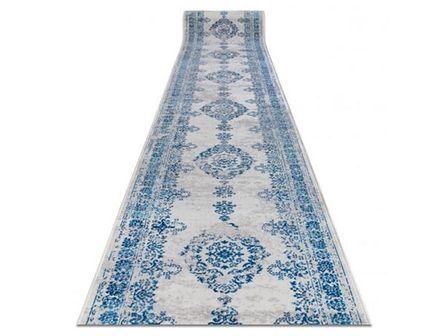 CHODNIK SZARY WZÓR NIEBIESKI WYBIERZ ROZMIAR CASCO ANTIGUO BLUE 80x140cm