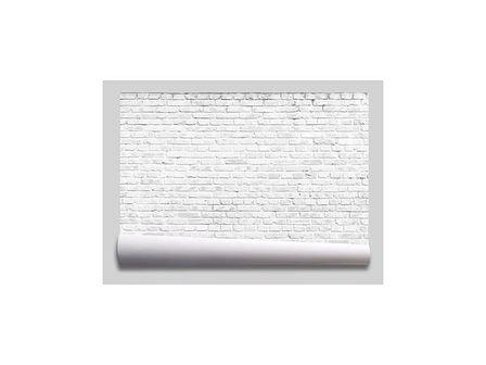tapeta cegła biała