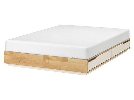IKEA - MANDAL Rama łóżka z szufladami