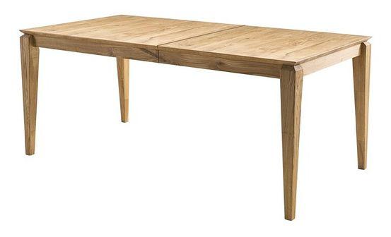 SELSEY Stół rozkładany Golpar 140-180x90 cm dąb lity dziki