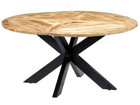 Okrągły stół z drewna mango – Gebel 3X