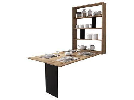 SELSEY Stół rozkładany Espigo 130x80 cm dąb wotan