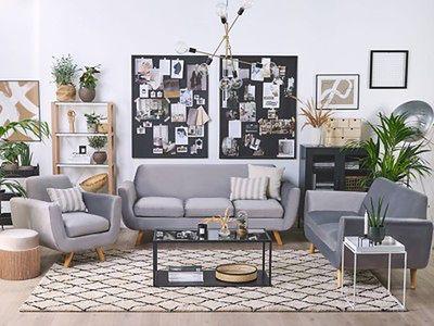Pokrowiec na sofę 3-osobową szary welurowy wymienna narzuta ochraniacz z zamkiem