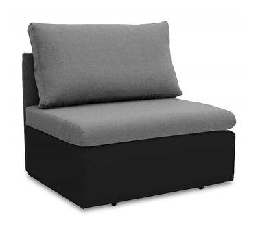 Fotel Sofa Jednoosobowa do Spania Toledo Szary