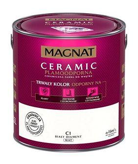 Farba ceramiczna MAGNAT Ceramic biały diament C1 2,5 l