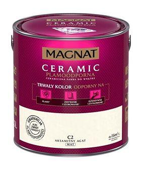 Farba ceramiczna MAGNAT Ceramic aksamitny agat C2 2,5 l