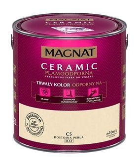 Farba ceramiczna MAGNAT Ceramic dostojna perłaC5 2,5 l