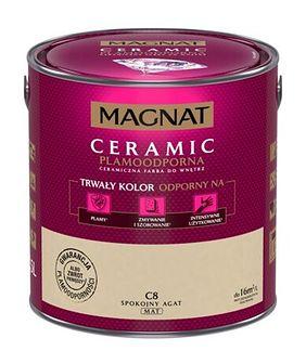 Farba ceramiczna MAGNAT Ceramic spokojny agat C8 2,5 l