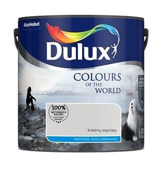 Farba lateksowa Dulux Kolory Świata Śnieżny Zaprzeg 2,5 l Dulux