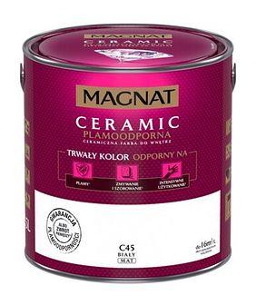 Farba ceramiczna MAGNAT Ceramic biały C45 2,5 l