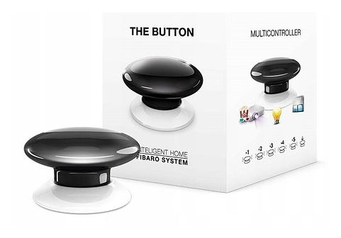 FIBARO The Button FGPB-101-2 (czarny) Z-wave