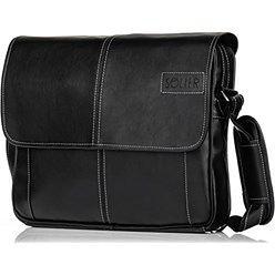 Stylowa torba męska na ramię casual SOLIER S15 czarna