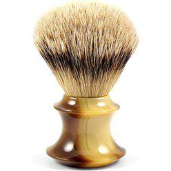 Pędzel do golenia Silvertip z imitacji rogu