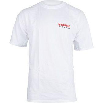 T-shirt męski York (biały)