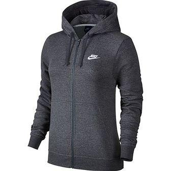 Bluza damska Sportswear NSW Hoodie Full Zip Fleece Nike (ciemnoszara)