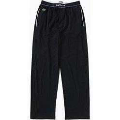 Lacoste - Męskie spodnie od piżamy, czarny