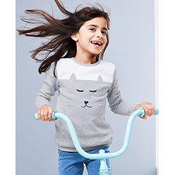 Bluza dziewczęca Tchibo bawełniana