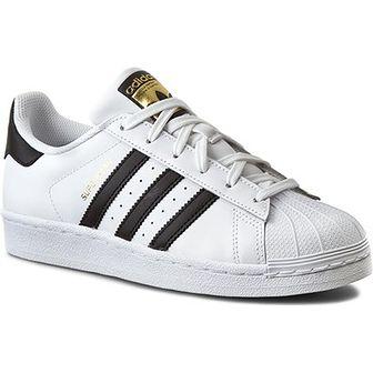 Trampki dziecięce Adidas w paski sznurowane