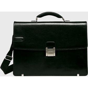 Czarna torba męska Vip Collection skórzana