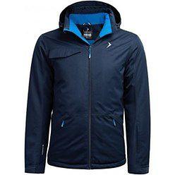 Kurtka sportowa Outhorn niebieska bez wzorów na zimę