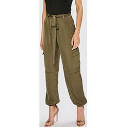 Spodnie damskie Missguided z poliestru