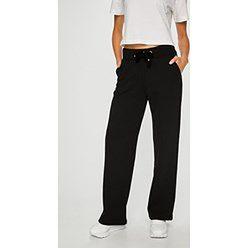 Czarne spodnie damskie Trussardi Jeans