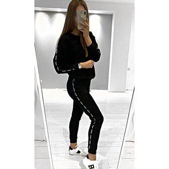 Spodnie damskie Mosquito czarne
