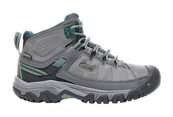 Buty trekkingowe Targhee EXP Mid WP Wm's Keen (steel grey/basil)