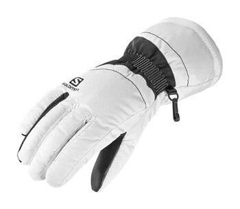 Rękawice Force Wm's Salomon (biało-czarne)