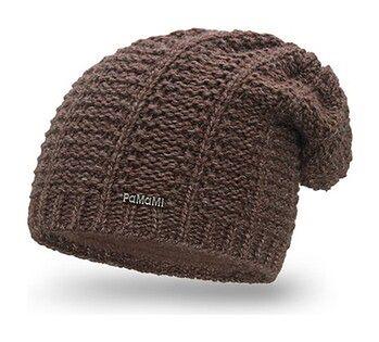 Przedłużana czapka damska z polarem