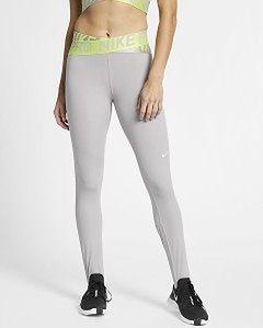 Legginsy damskie Pro Intertwist Nike (szare)