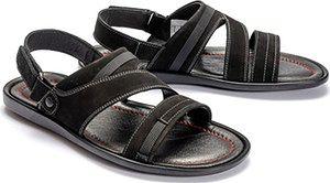 KRISBUT 1155A-4-1 czarny, sandały męskie