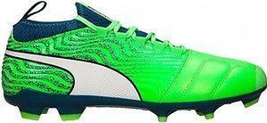 Buty piłkarskie korki One 18.3 FG Puma (neon zieleń)