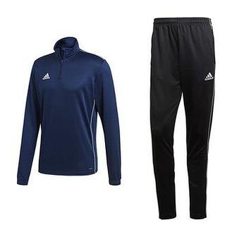 Dres męski Core 18 Training Top Adidas (granatowo-czarny)