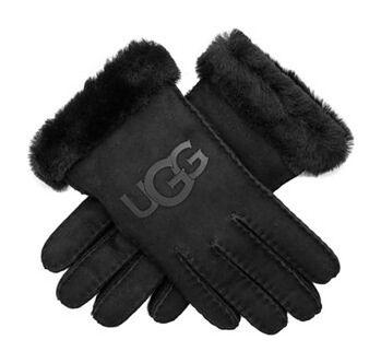Rękawiczki UGG Sheepskin Logo Glove Black 18691 BLK