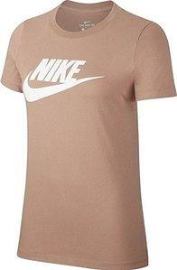 Koszulka damska Sportswear Essential Icon Future Nike (brązowa)