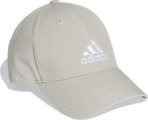 Czapka z daszkiem Baseball Unisex Adidas (metal grey/white)